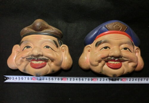 Japanese antique mask